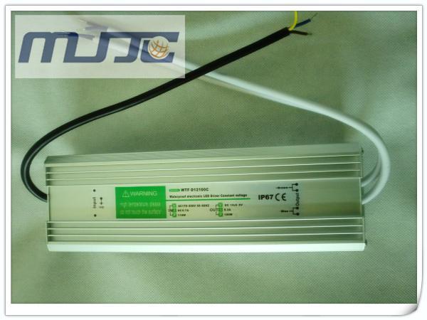 アルミ合金のシェル90-277V ACから12V 24V DC 8.3A 100W IP67の防水電子LEDのドライバのスイッチング電源