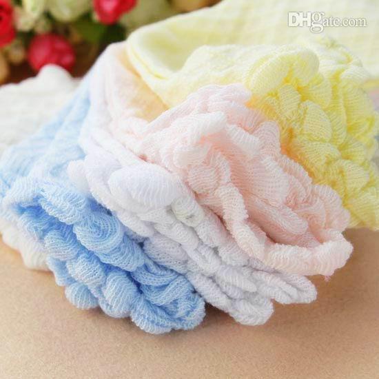 Baby strumpor spets mesh strumpor för barn bomull strumpor