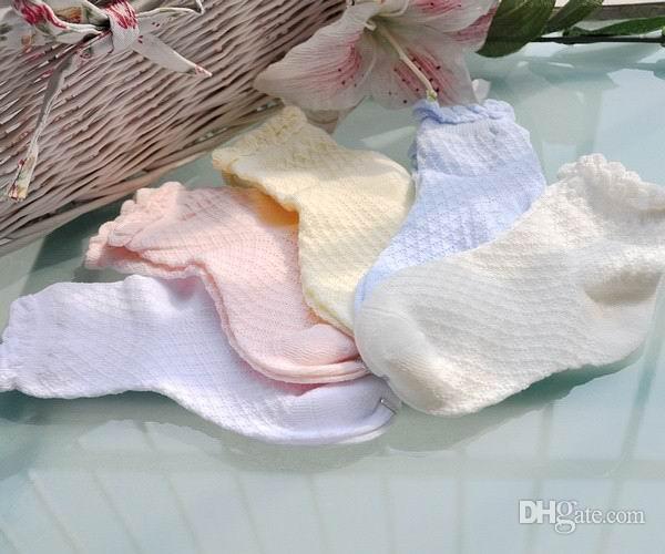 赤ちゃんの靴下レースメッシュソックスのための子供の綿の靴下