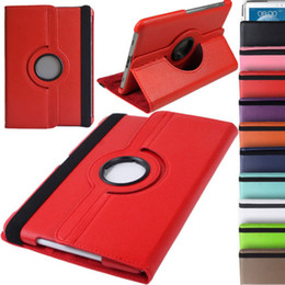 Wholesale Smart Pouch Leather - 360 Degree Rotating Folio Flip PU Leather Smart Case Pouch Cover With Magetic Sleep Wake UP for Samsung Galaxy Note 10.1 N8000 N8010