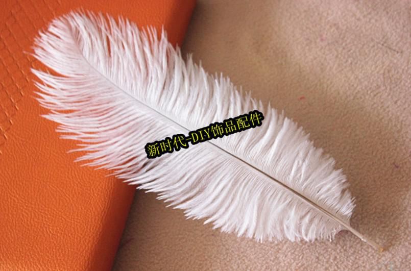 Prefect Natural white Ostrich Feather wedding Eiffel Centerpieces Wedding Party Decoration many size to choose