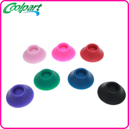 Atomizer Sucker Canada - ego silicone sucker battery base for holding ego ego-t electronic cigarettes with many colors available e cigarette atomizer sucker