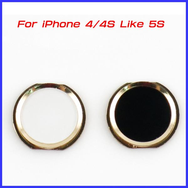 For iPhone 4 4S Home Button Key iPhone 5S Design Style For iPhone4 ...