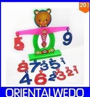 Wholesale Brains Balance - Bear digital brain balance Early education math toys Developmental games baby gift new top sale FREE SHIPPING
