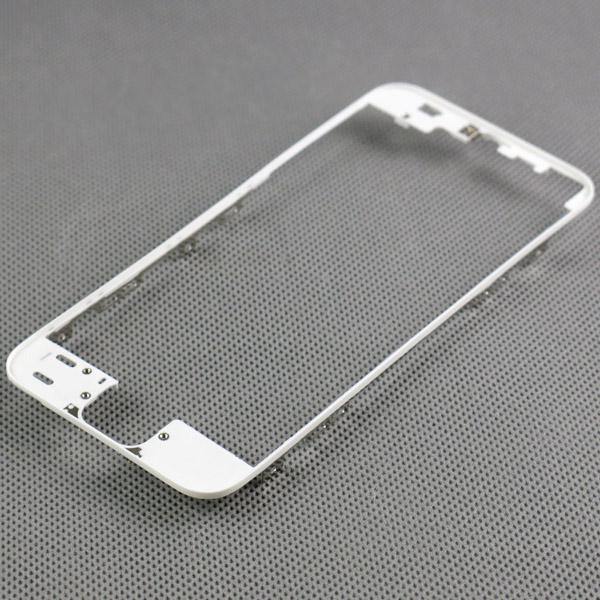 For iPhone 5S Plastic Digitizer Frame For iPhone5S Touch Screen Bracket Holder Bezel Housing with 3M Adhesive