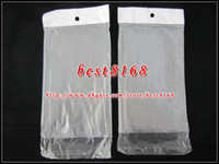 Wholesale S3 Mini Clear Case - Poly Plastic Retail bag Matte frosted Packaging Package for iphone 4 4S 5 5G 5S Samsung S4 S3 mini phone case TPU soft clear crystal