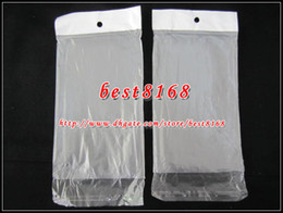 Wholesale S3 Mini Phone Cases - Poly Plastic Retail bag Matte frosted Packaging Package for iphone 4 4S 5 5G 5S Samsung S4 S3 mini phone case TPU soft clear crystal