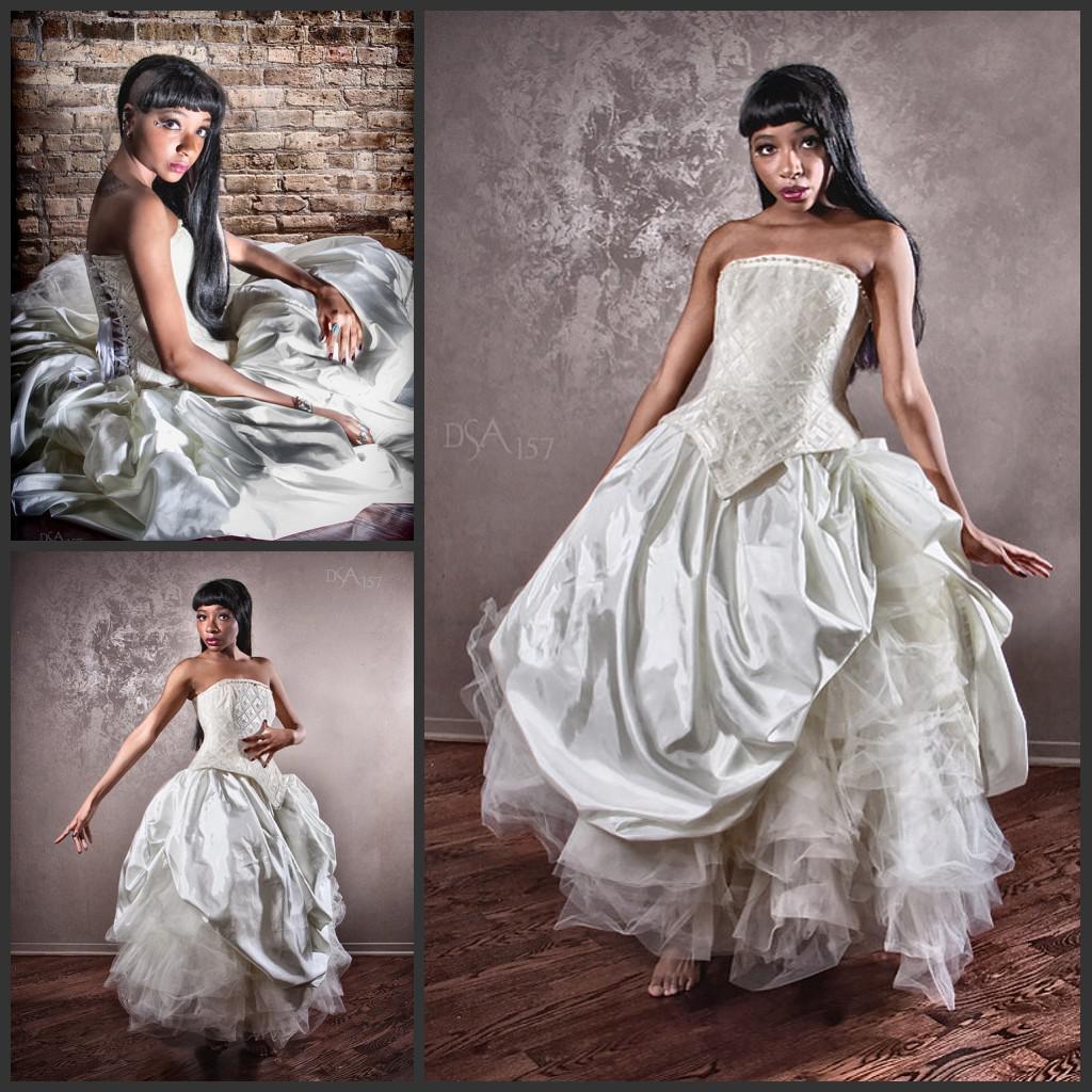 Wedding Ball Gowns 2014: 2014 Cinderella Ball Gown Alternative Wedding Dress Velvet