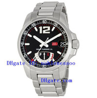 Wholesale Miglia Watch - AAA Top quality luxury Mens Miglia GT XL Power Reserve Black Dial Watch 158457-3001 Automatic Men's Watches Wristwatch Sport Movement