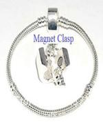 sipariş gümüş yılan toptan satış-Yeni Moda 925 gümüş Takı Yılan Zincirler 925 Toka Vogue Moda Bilezik 3mm 6-9 inç karışık sipariş Ücretsiz kargo 100 adet Sıcak