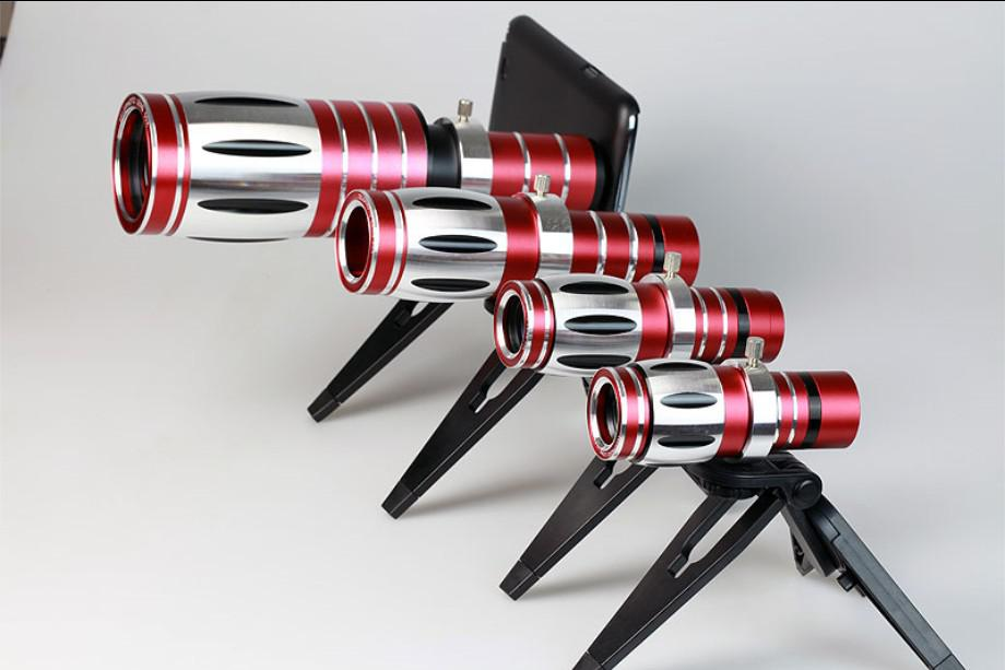 Compre nuevo universal 50x telescopio celular 50x optical zoom