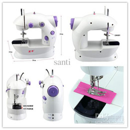 Wholesale Damask Satin - Mini multifunctional 16 household electric desktop compat Sewing machine sartorius