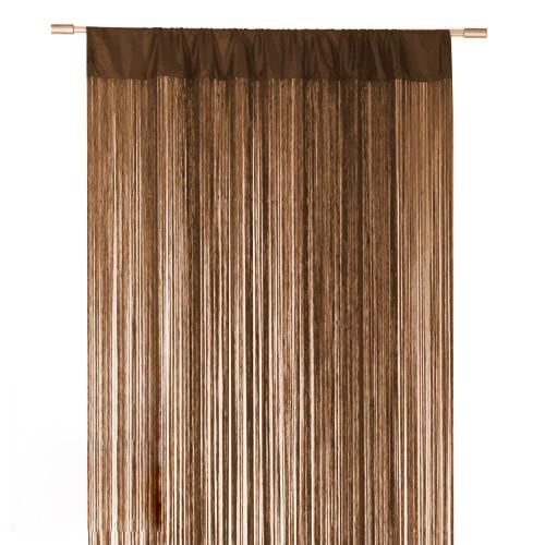 Brown String Curtain Fringe Panel For Weddings And Events Decoration Funky Curtains Cheap From Oedel 1056