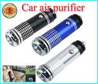 Wholesale Vehicle Air Ionizer - 12V Mini Auto Car Fresh Air Ionic Purifier Oxygen Bar Ozone Ionizer Cleaner