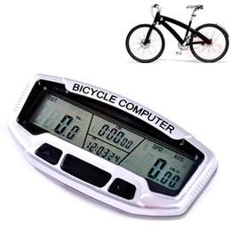 Wholesale Bicycle Computer Speedometer - S5Q 4in1 Waterproof Digital Bicycle Bike Computer Odometer Speedometer Stopwatch AAAAHX