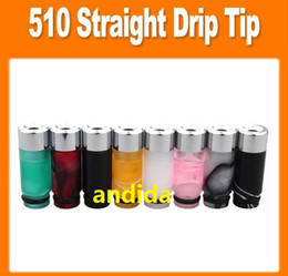 Wholesale New Style Dct - EGO Acrylic Drip Tip 510 Mouthpiece for E Cigarette Vivi Nova DCT 510 Cartomizers new style