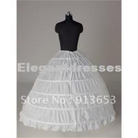petticoats slips zum verkauf großhandel-Heißer Verkauf neuestes herrliches Weiß 6 HOOP PETTICOAT Krinoline SLIP Underskirt BRIDAL WEDDING Kleid Heißer Verkauf!