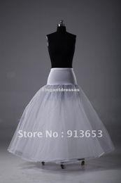 Wholesale Wholesale - In Stock A-Line White Wedding Petticoat Bridal Slip Underskirt Crinoline For Wedding Dresses