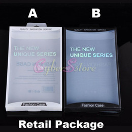 Wholesale Iphone Layer - 700pcs High Quality Luxury Retail Package Plastic Box Packaging With inlay Layer For iPhone Samsung Mobile Phone Hard Leather Case