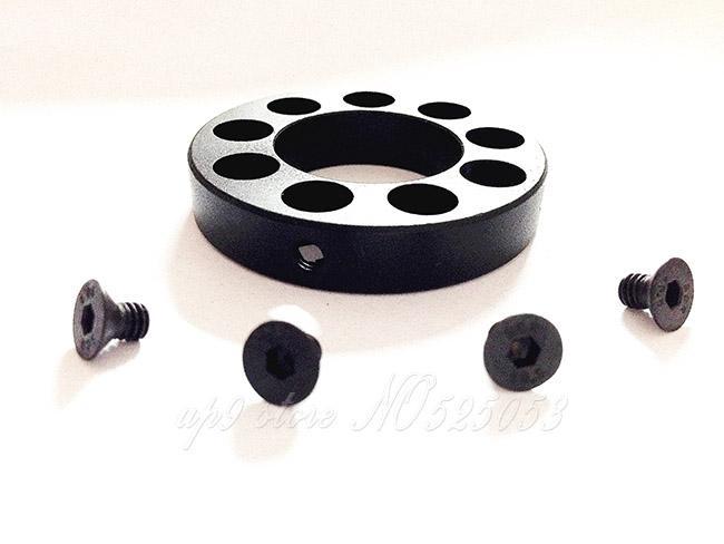 10 unids / lote Tactical 0.936 Barrel .308 Modelo 15 Parte delantera Cap para Free Float Quad Rail Handguard .936