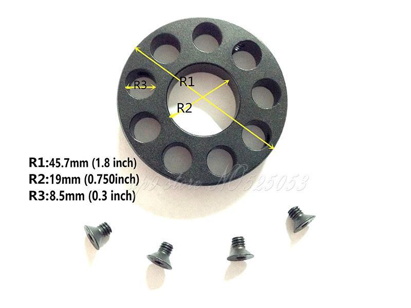 Tactical 0.750 Barrel .223 Modell 15 Front End Cap for Free Float Quad Rail Handguard .750