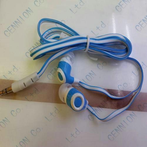 3.5mm In-Ear Kopfhörer-Nudel-Linie Kopfhörer für Tablette PC MP3 MP4-Fabrikpreis /