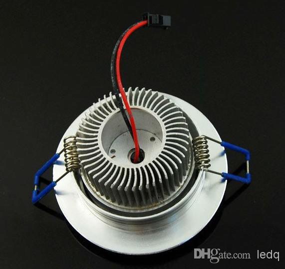 Dimmbare LED-Deckenleuchten Downlight 3x1W vertiefen hinunter Beleuchtung hohe Leistung Watt CER ROSH warme / kühle weiße Lampe 2 Yars Garantie MOQ30