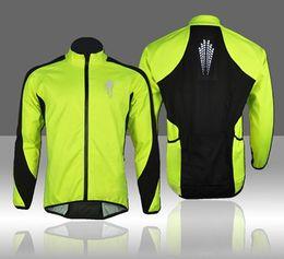 Wholesale Waterproof Cycling Sport Bike - WOLFBIKE MenThermal Fleece Winter Cycling Soft Shell Coat Bike Bicycle Windproof Jacket Cycling Jerseys Cycling Jackets Green sports wear