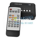 Wholesale Usb Mpeg4 - 2pcs lot TV HD 720P Center Remote Multi Video Media Movie Player SD USB MKV RM RMVB AVI MPEG4 4243