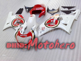 Wholesale Gsxr K2 - 7gifts- red White K1 2001 2002 2003 GSXR600 GSXR750 01 02 03 moto FOR GSXR 600 750 2001 2002 2003 GSXR600 GSXR750 01 02 03 fairing kit K1 K2