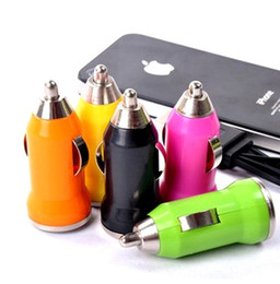 Wholesale Nano Mobile Charger - 1600pcs lot! Universal Colorful Mini Micro USB Car Charger Adapter for iPhone iPod Nano Touch, Car Chargers for Samsung for all Mobile Phone