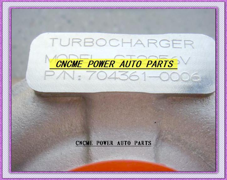 Турбо GT2256V 704361-5006S 704361-0005 704361 турбины турбонагнетателя для BMW 330D Е46/ Х5 Е53,3.0 л д 1999-2003 М57Д Д30 М57 3.0 л 2.9 л 184HP