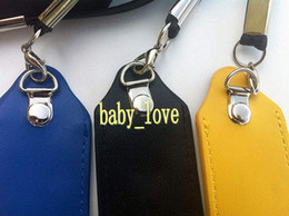 Wholesale Carry Bag Lanyard - eGo E Cigarette Bag Necklace String PU Leather Lanyard Carrying Pouch Pocket Neck Sling Rope Round Corner Case Bag for Ego E Cigarette