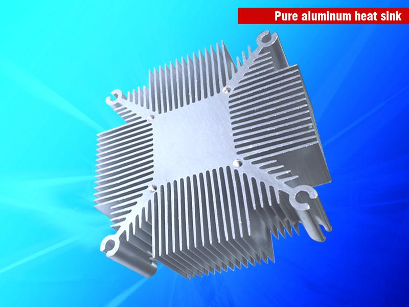 Radiador de disipador de calor de aluminio LED de DIY LED 20W-100W Radiador de disipador de calor de aluminio puro para el refrigerador LED de COB Kit de lámpara LED DIY