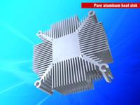 Wholesale Led Diy Heatsink - Free shipping 50-100w high power led heatsink for Indoor DIY grow system