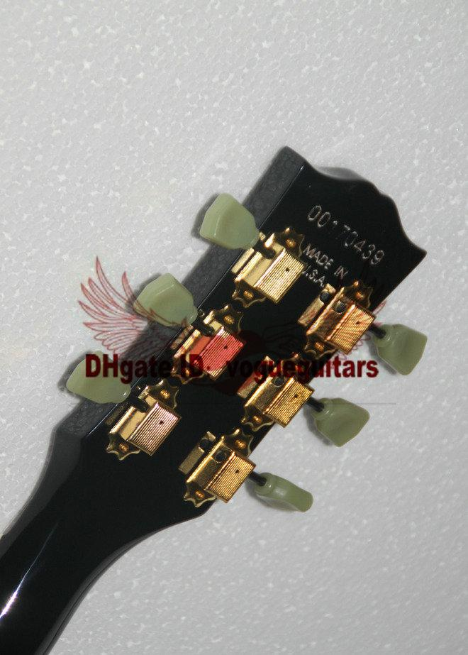 Custom shop Jazz guitar Black hollow body 335 Electric Guitar in stock From China With tremolo system HOT OEM Guitar
