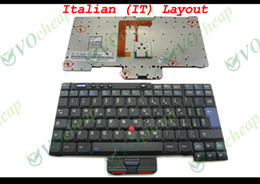 Wholesale Ibm Thinkpad X41 - New Laptop keyboard for IBM Thinkpad X40 X41 Black Italian IT Version - 93P4598