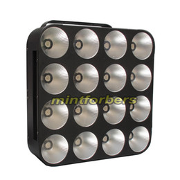 LED Blinder Light Matrix light with 16pcs 30w RGB 3in1 COB led pro led stage light free shipping