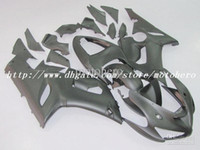 Wholesale Kawasaki 636 Plastics - 7gifts- High quality ABS Plastic fairing for KAWASAKI ZX6R 05 06 ZX6R 2005 2006 ZX 6R 636 motorcycle fairing kit EMS Free