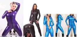 Suits Price NZ - Lycra spandex zentai costume catsuit front zip S-XXL Wholesale prices