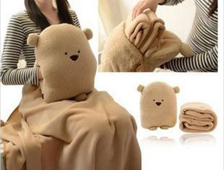 Plush Toys 28 20cm Pillow Cute Hand Warmer Bear Air