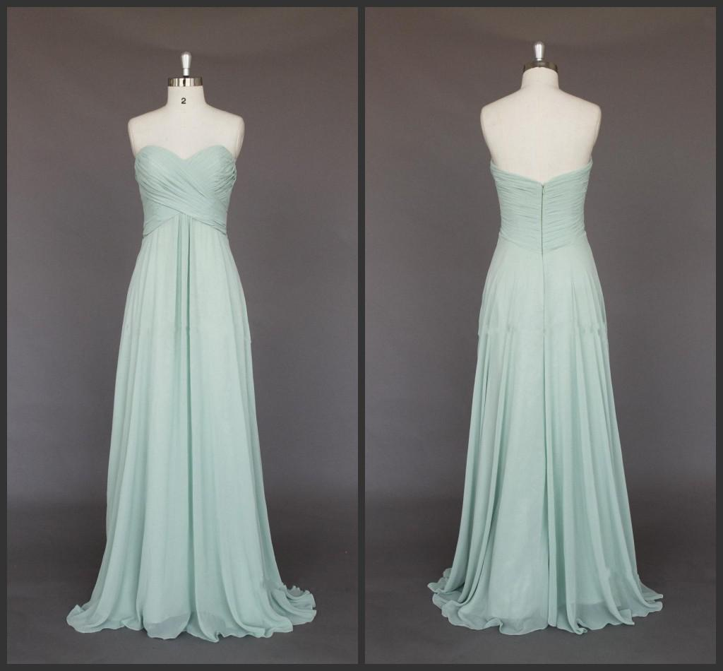 2014 new design green sage cheap long bridesmaid dresses 2014 new design green sage cheap long bridesmaid dresses sweetheart empire full length chiffon backless long evening gowns ruffle cheap junior dresses cheap ombrellifo Images