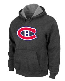 Wholesale Red Sports Wear For Men - Best Hoodie Montreal Canadien Hoodies for 2014 Hockey Games Big And Tall Pullover Sport Hoodies Best Quality Low Price Athletic Wear