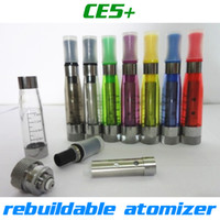 Wholesale Ego Electronic Cigarette Refills - Top quality CE5+ rebuildable atomizer no wick CE5 Clearomizer refilled e liquid for ego battery Electronic Cigarette CE4 CE5 ego atomizer