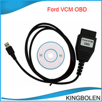 Wholesale Top Rated Scan Tool - 2017 Top-rated for Ford VCM IDS mini type Ford VCM OBD Diagnostic tool cable for Ford vcm vehicles Automatic ECU scan Free Shipping