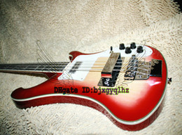 Custom guitar Cherry burst online shopping - NEW Arrival Haute Custom Strings Electric bass Guitars in Cherry burst