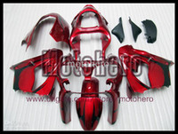 Wholesale Kawasaki Zx9r - 7gifts- free shipping red black for KAWASAKI ZX 9R 00 01 03 ZX9R 2000 2001 2002 2003 ABS fairing kit & windscreen s23332
