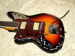 Wholesale Electric Guitars Jaguar - Guitar Brand new stunning JAGUAR Guitar Imitation old Electric Guitar IN Sunburst