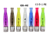 Atomizador H2 barato Clearomizer colorido E-cigarro GS H2 atomizador substituir CE4 Cartomizer all For eGo-T eGo 510 batter series