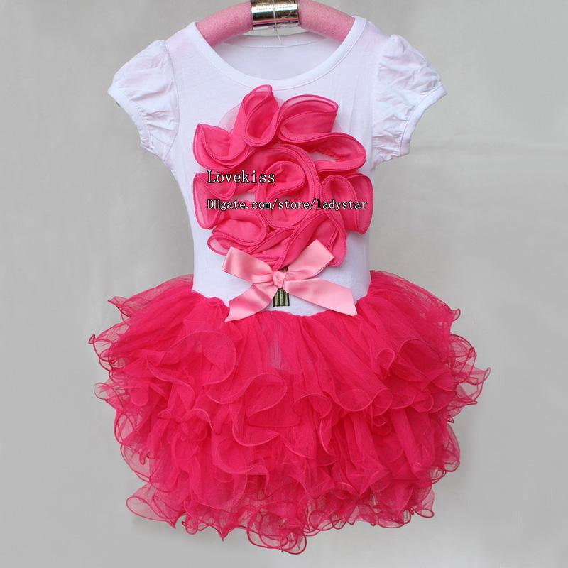 dfa5c8ffb32a 2019 Fashion Girl Clothes Casual Dresses Kids Clothes Skirt Baby ...